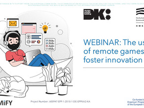 WEBINAR: The use of remote games to foster innovation