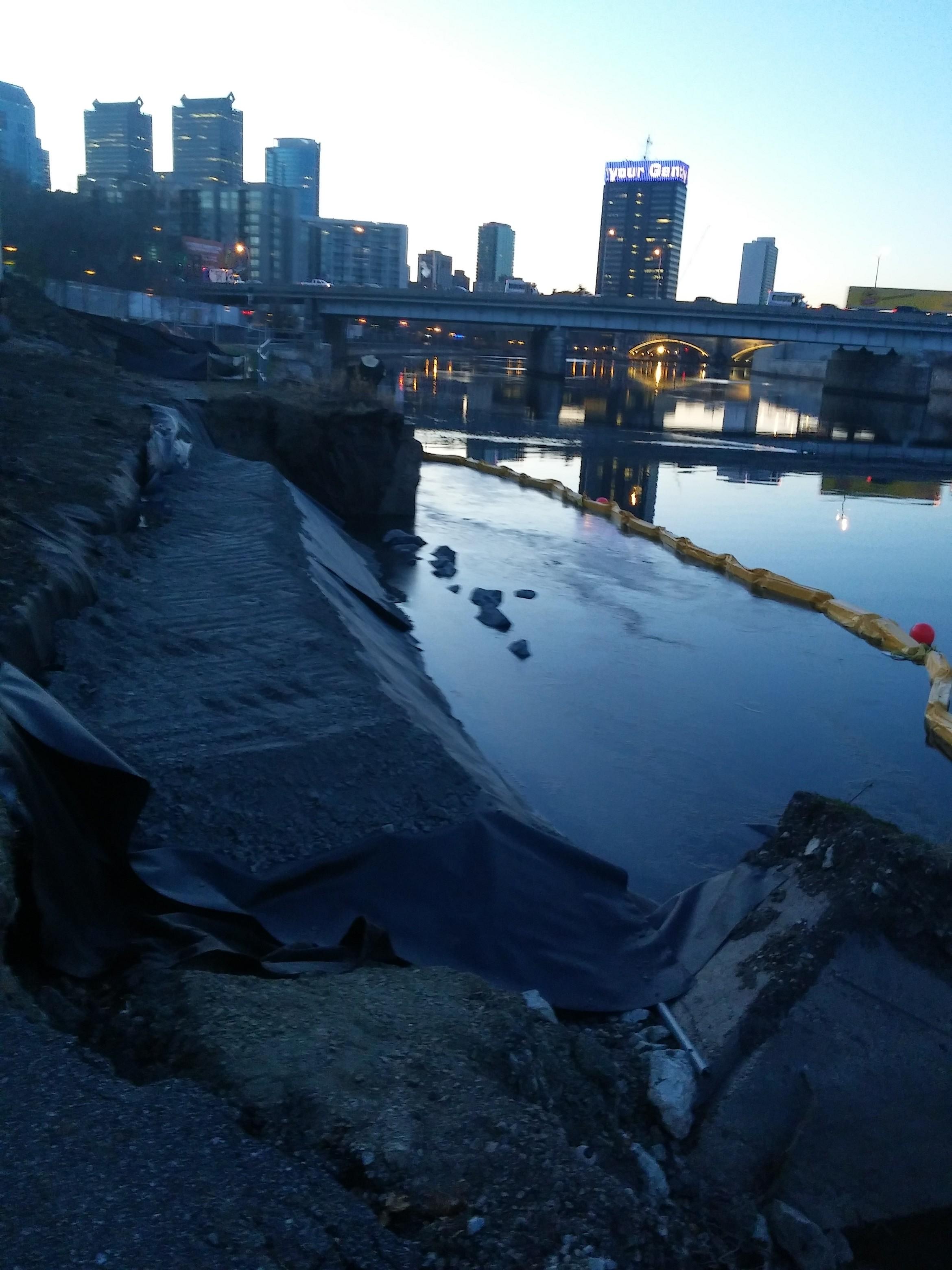 Schuylkill River Wall Repair