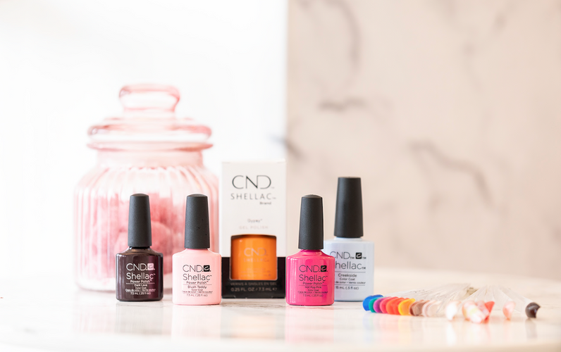 CND Shellac Nail Polishes