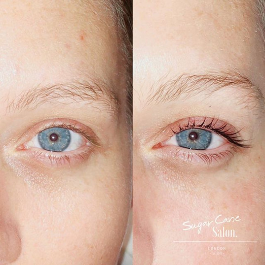 LVL Lash Lift ★ (natural lashes). Result