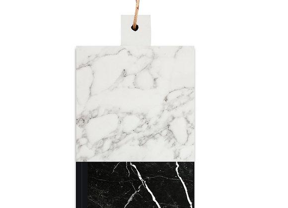 tábua de mármore carrara nero
