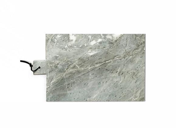 tábua de mármore cinza pequena