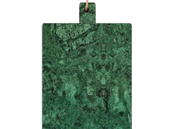 tábua de mármore verde grande