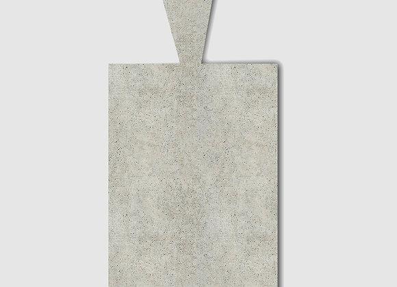 bandeja concreto retangular com alça