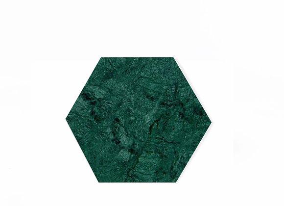 tábua de mármore verde