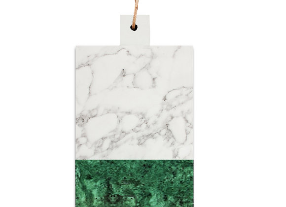 tábua de mármore carrara verde