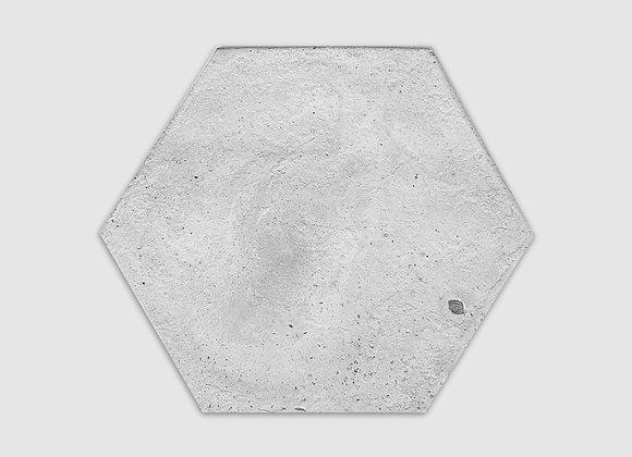 bandeja de concreto hexagonal
