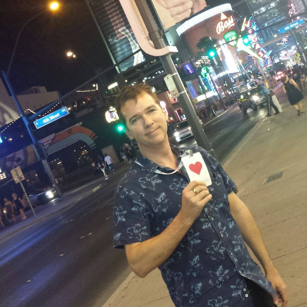 Screenwriter Phil Parker at Las Vegas Fi