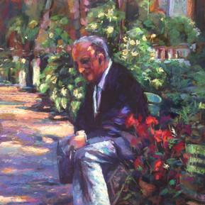 Alban in the Garden