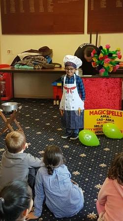 Magic cooking