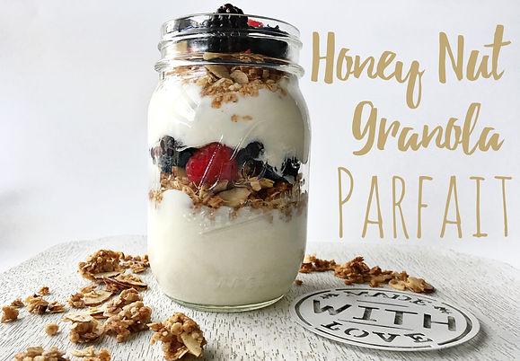 The Athlete's Parent: Honey Nut Granola Parfait Recipe