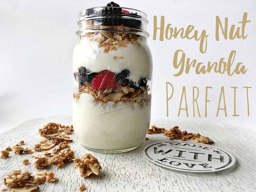 Honey Nut Granola Parfait