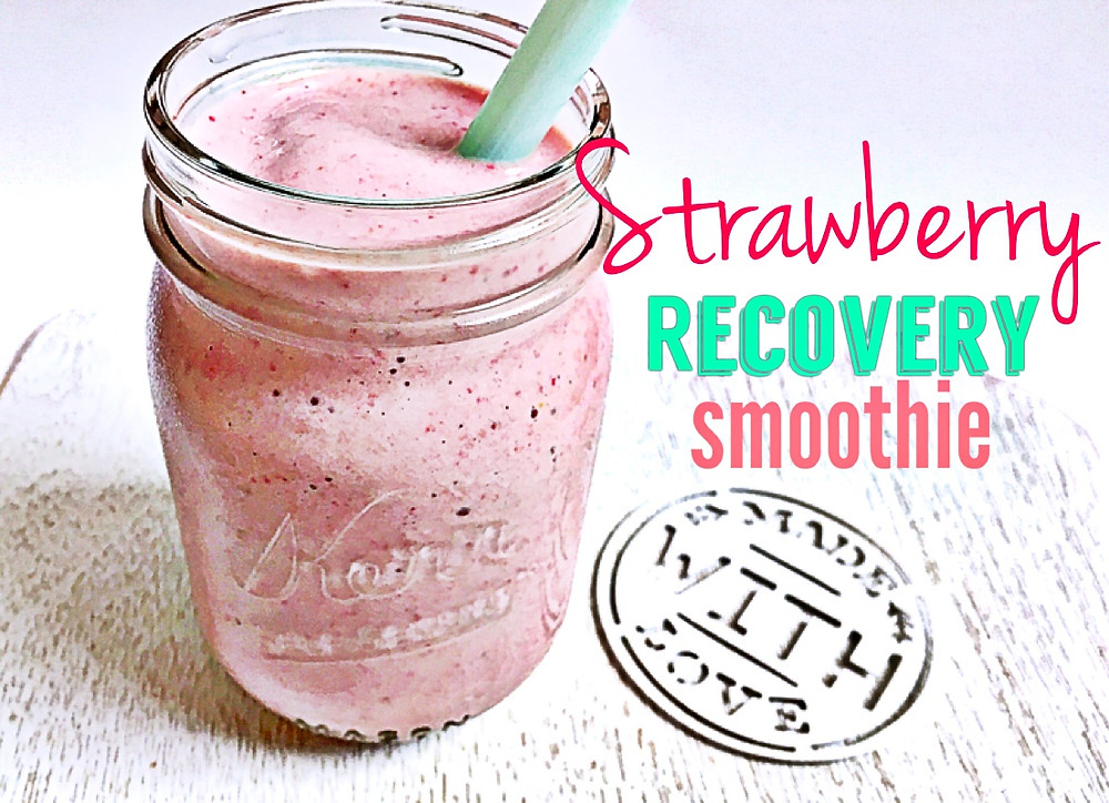 Strawberry Recovery Smoothie Recipe, The Athlete's Parent