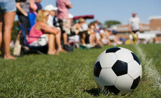 Soccer Parents on Sidelines
