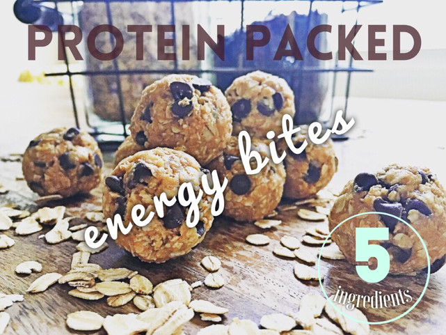 Protein Packed Energy Bites