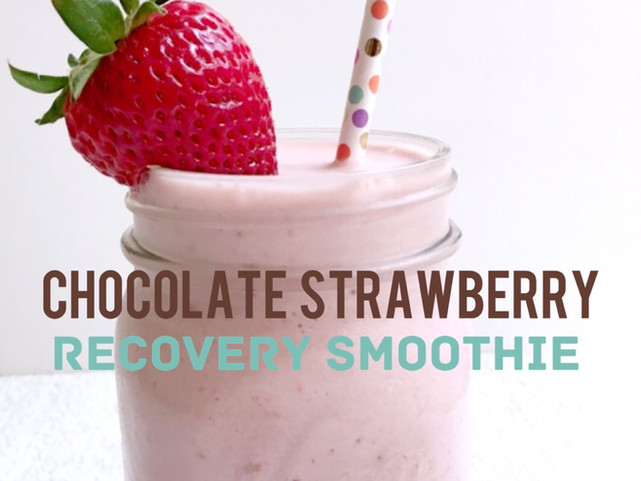 Strawberry Recovery Smoothie