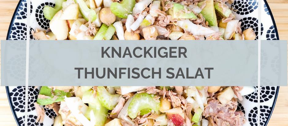 Knackiger Thunfisch Salat