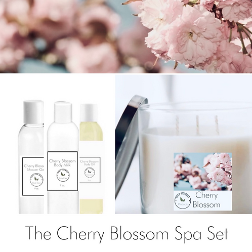 Cherry Blossom Spa Set