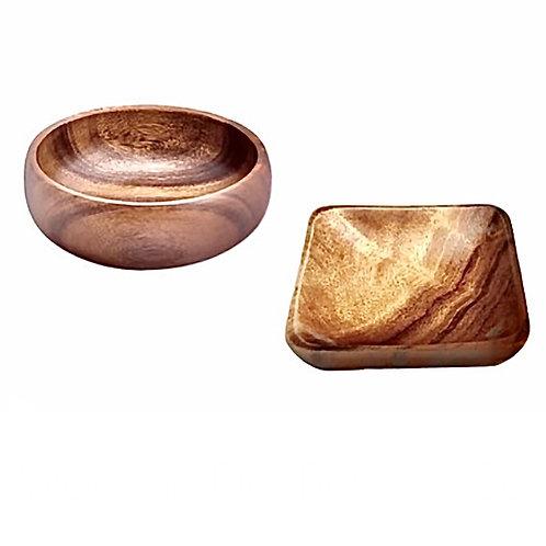 Acacia Dip Bowl Set