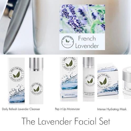 The Lavender Facial Set