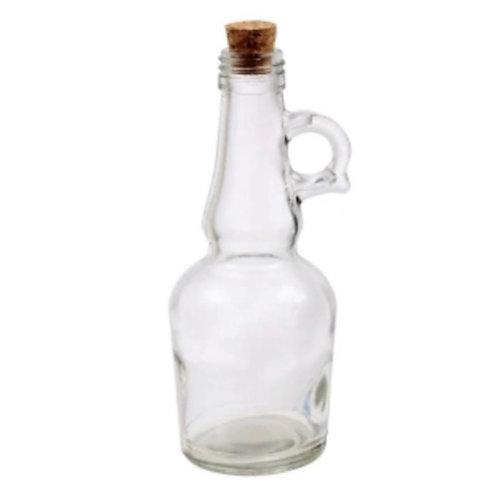Seeded Glass Oil Bottle