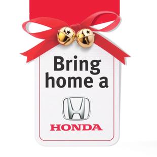 Bring Home A Honda