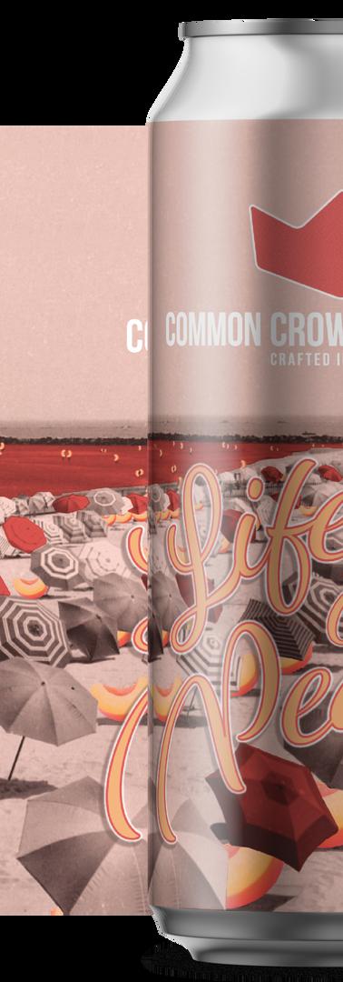 Common Crown Life's a Peach Peach Sour