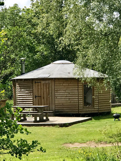 River Bank Yurt
