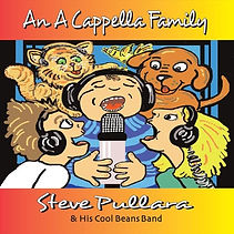 Album Cover An A Cappella Family by Stev