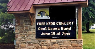 collegville street sign of band more col