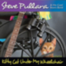Kitty Cat Under My Wheelchair by Steve P
