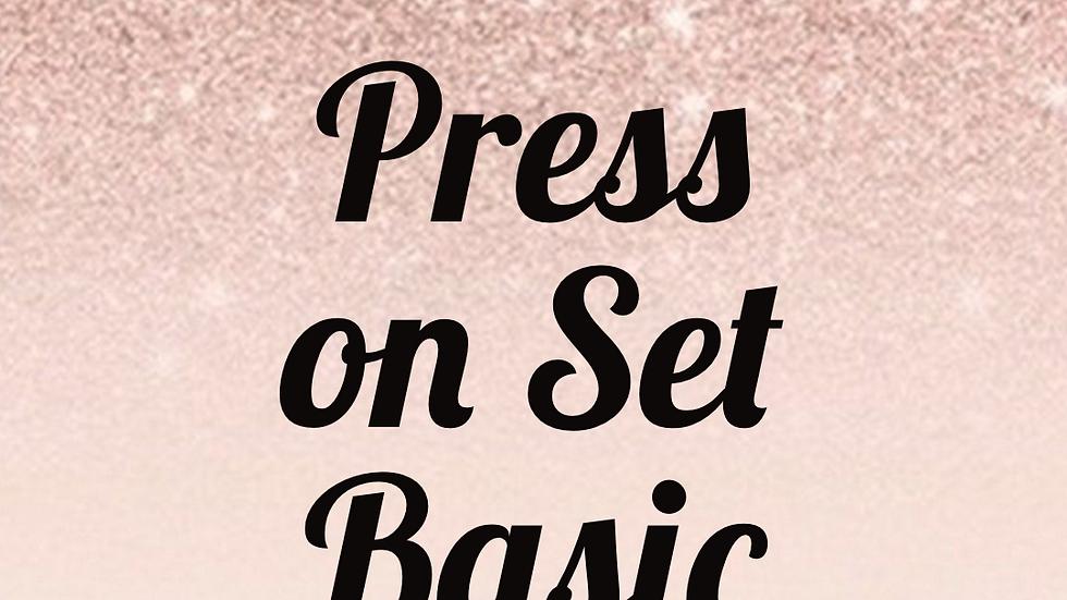 Basic Press on Set