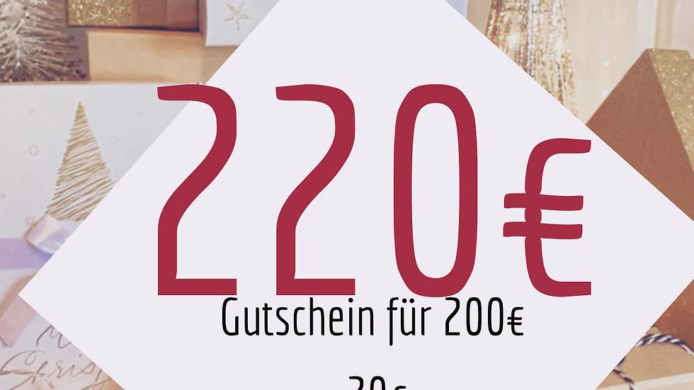Geschenk Box 220€