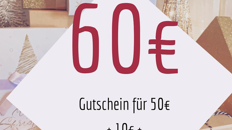 Geschenk Box 60€