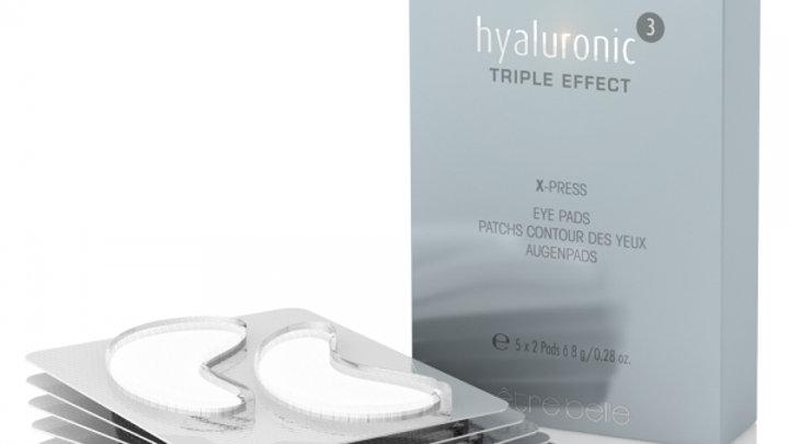 hyaluronic³ X-press Augenpads