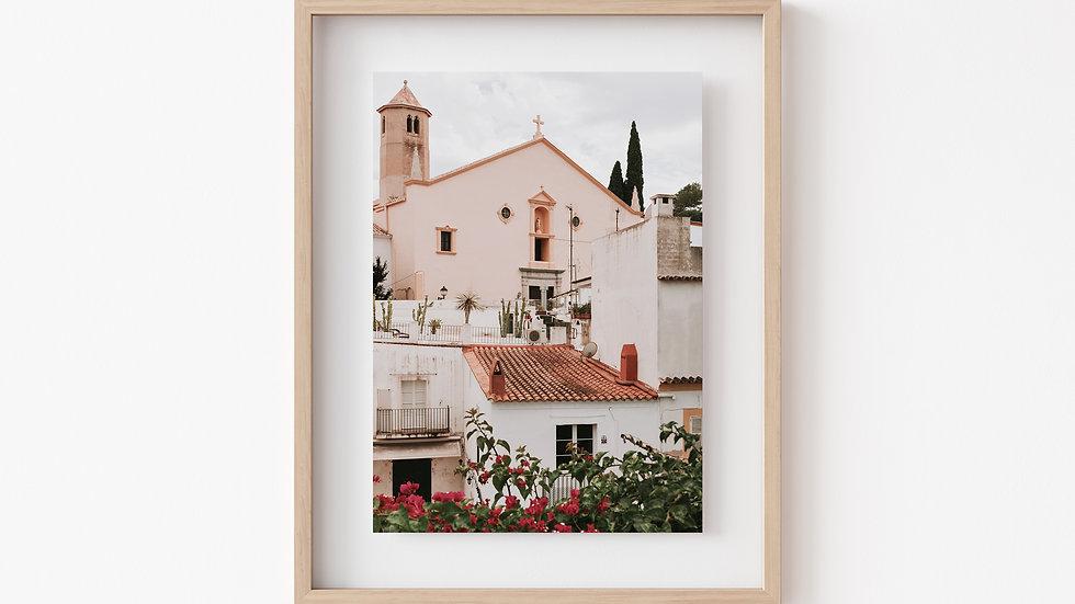 A Pretty Church in San Antonio, Ibiza