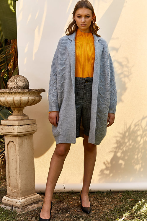 Wool Knit Felting Jacket