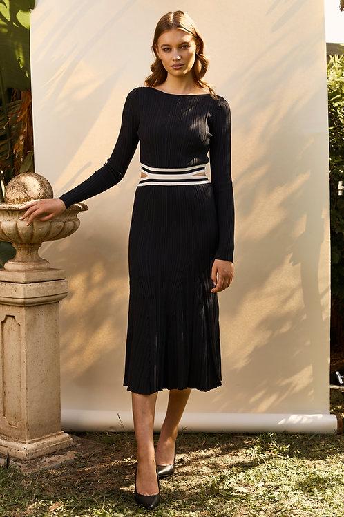 Join Waist Rib Dress