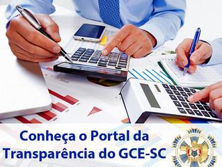 GCE-SC lança Portal da Transparência em seu site