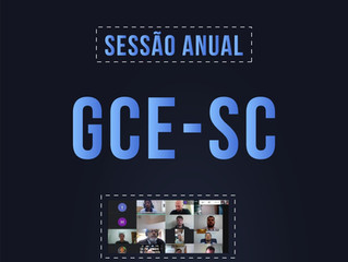 GCE-SC REALIZA SESSÃO ANUAL ON-LINE