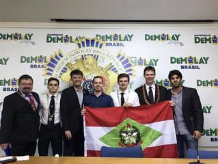 Grande Conselho e Gabinete Estadual participam do ELOD Nacional 2016