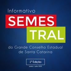 GCE-SC LANÇA INFORMATIVO SEMESTRAL