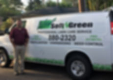 Owner, Brian Richey of Soft-N-Green in Huntsville, AL