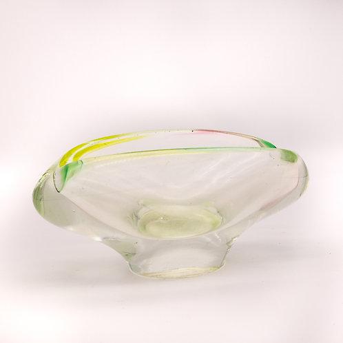 Aschenbecher aus Muranoglas, Seitenansicht rechts