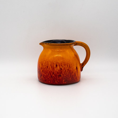 Gmundner Keramik Krug 1970, Seitenansicht Links