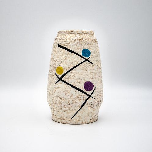 Handbemalte Vase, Vorderansicht