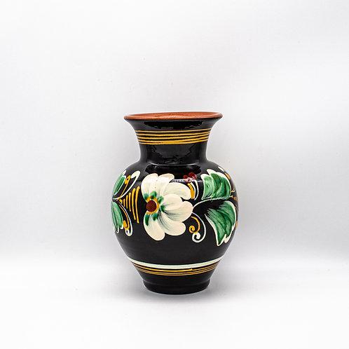 Vase mit floralen Ornamenten, Vorderseite