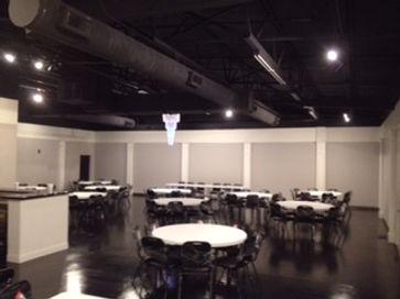 Celebrations Event Hall set up