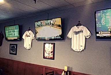 Jersey's Sports Grill jersey wall