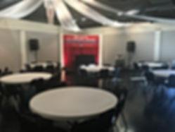 Celebrations Event Hall football dinner